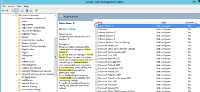 Managing UE-V Settings Location Templates with Group Policy – Lab Geek