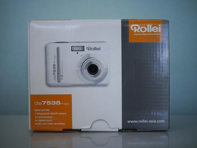 ローライのデジカメ「Rollei da7535」を使ってみました。