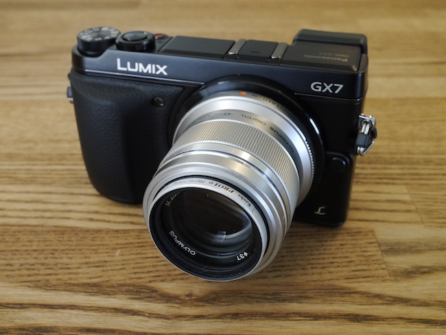 LUMIX DMC-GX7:M.ZUIKO DIGITAL 45mm F1.8