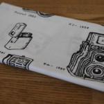 日本カメラ博物館「歴史的カメラのイラストてぬぐい」