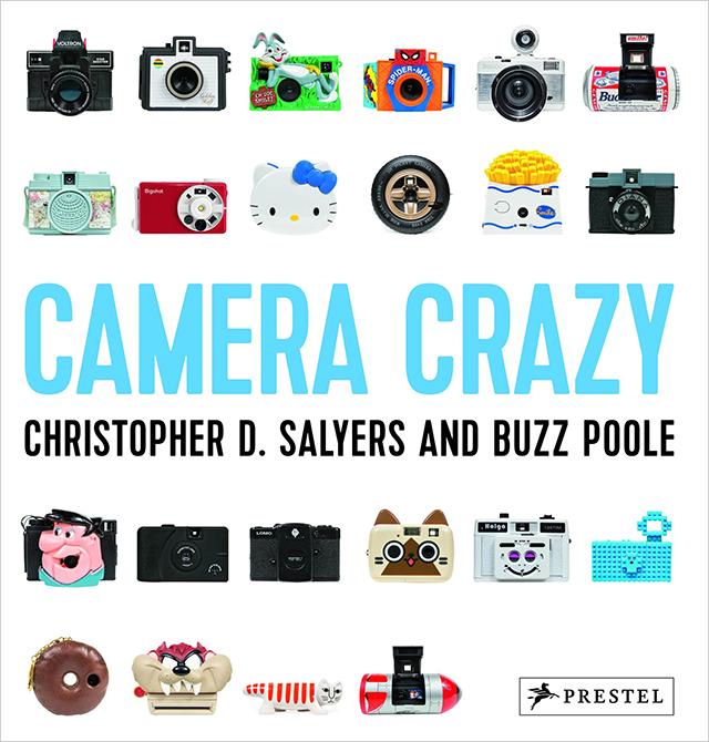 Camera Crazy!海外に仲間がいた!変な形のカメラばかりを集めた本!