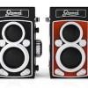 これは可愛い!スマホで使える「Bluetooth二眼レフ型リモートシャッター」フィルム型も同時発売!