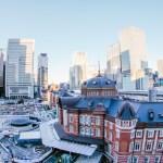 KITTEの屋上庭園「KITTEガーデン」から東京駅を一望!やっぱり東京駅はカッコいい!