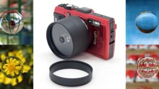 TG-4 Toughで簡単に宙玉写真が撮れる「GIZMON x ZENJIX soratama 55 TG」が発売に!