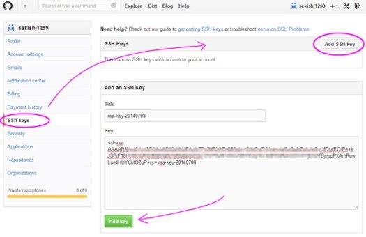 append ssh public key on github01