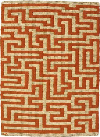 Red Meander - Annie Albers, 1954