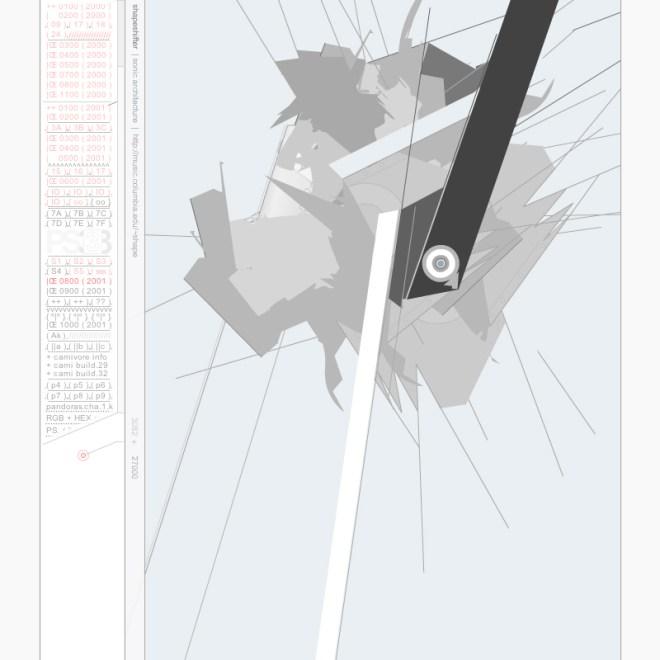Shapeshifter|Sonic Architecture - Joshua Davis, 2001