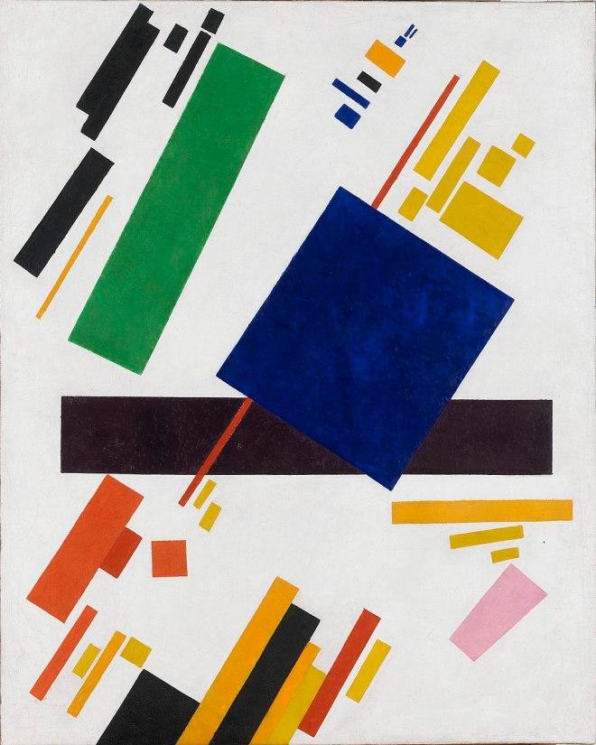 Suprematist Composition - Kasimir Malevich, 1916
