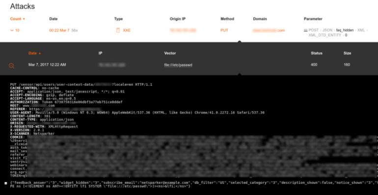 Wallarm API security