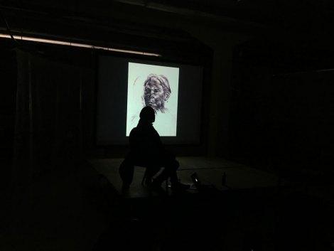 Cullen Washington Jr, Studio Visit, ASFA Lab12