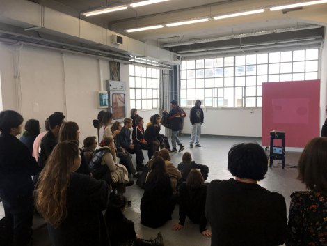 Royal College of Arts, Studio Visit, ASFA Lab12