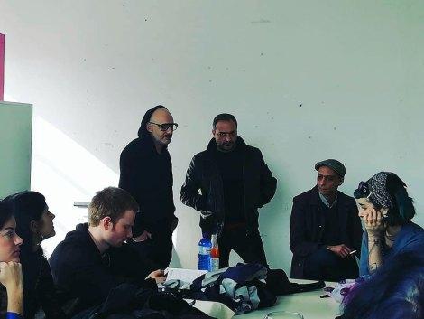 The Callas, Studio Visit, ASFA Lab12