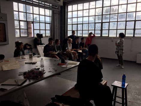Tomomi Sasaki, Studio Visit, ASFA Lab12