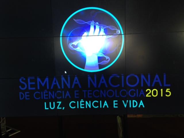 Semana Nacional de Ciência e Tecnologia (2015).