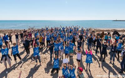 La backpack family soutient Project Rescue Ocean