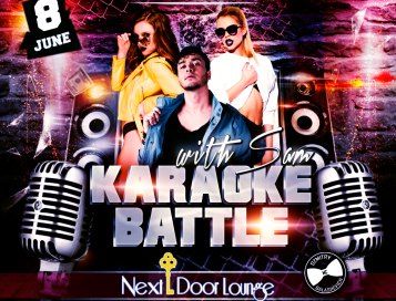 """Karaoke Battle with Sam"", June 8th"