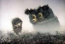 Le Hérisson dans le brouillard