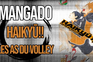 La Bande Animée - Mangado - 504 - Haikyu !! Les as du volley