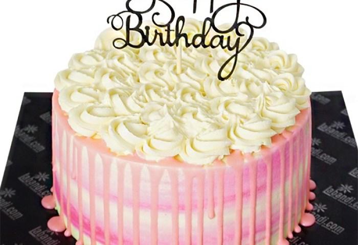 Vanilla Rose Bday Cake 22lb
