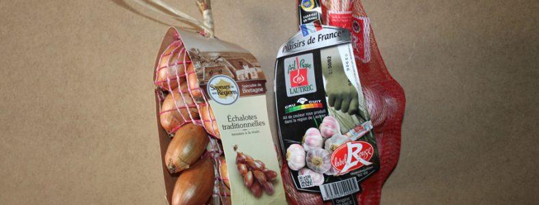 Ail rose de Lautrec et échalotes traditionnelles de Bretagne