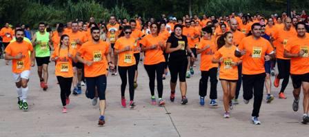 Carrera solidaria por la salud mental organizada por ARFES 10/10/2015 JONATHAN HERREROS