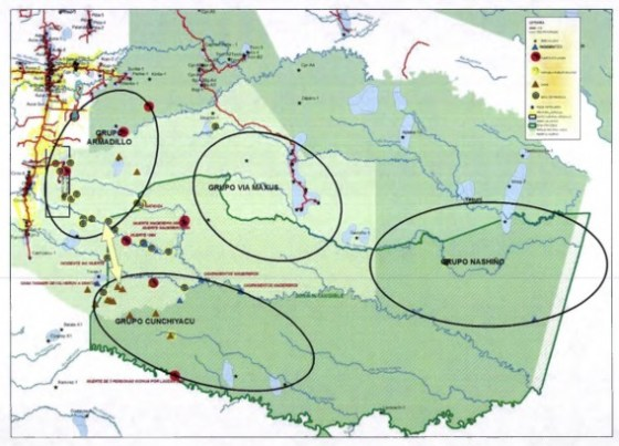 mapa de pueblosen aislamiento