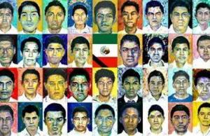 """Con el lema """"vivos se los llevaron, vivos los queremos"""", en distintas ciudades de México se realizan marchas para exigir la aparición de los 43 normalistas. Foto: fanpage de Ayotzinapa Causa."""