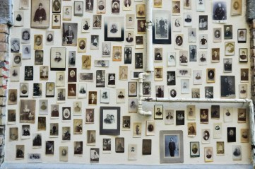 Cartes de visite. Materia sensible. Fondazione Pastificio Cerere, Roma, 2013. Pablo Mesa. Foto cortesía del artista