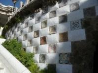 Detall paret Park Güell
