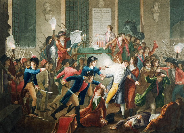 La Nuit du 9 au 10 thermidor an II, Arrestation de Robespierre