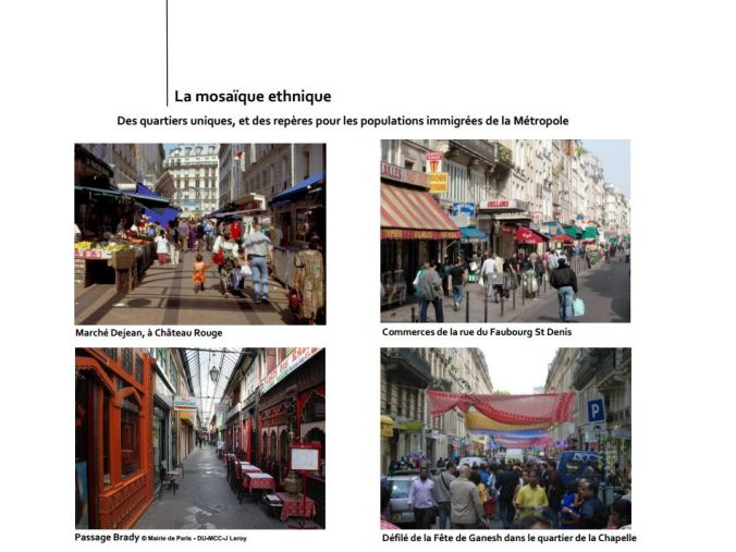 Les mosaïques ethniques de l'APUR