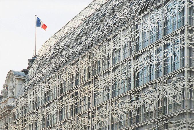 Ministère de la Culture. Architectes : Francis Soler et Frédéric Druot.