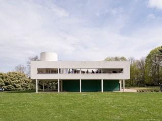 Villa Savoye, Poissy (Yvelines), 2014 - Le Corbusier