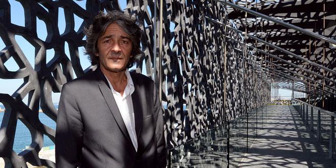Rudy Ricciotti en juin 2013 . © Anne-Christine Poujoulat / AFP