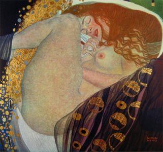 """Danaé"" (1908) de Gustav Klimt"
