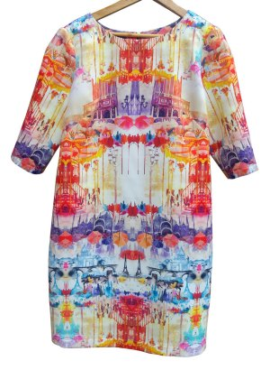 parisian-print-shift-dress---front-