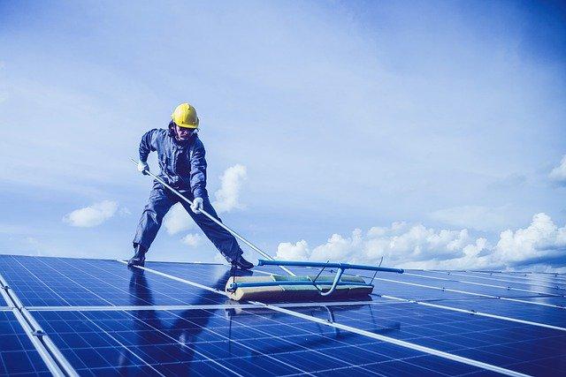nettoyage panneau solaire
