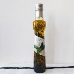 Extra vergine olijfolie met basilicum - Ollio