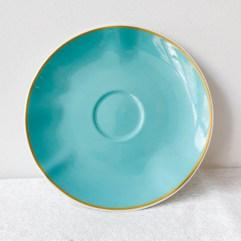 Porseleinen schotel voor theekopje - Rice