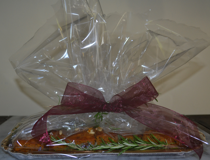 Pumpkin Cake with Rosemary for friends | labellasorella.com