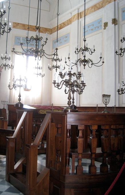 Pitigliano Restored Synagogue | labellasorella.com