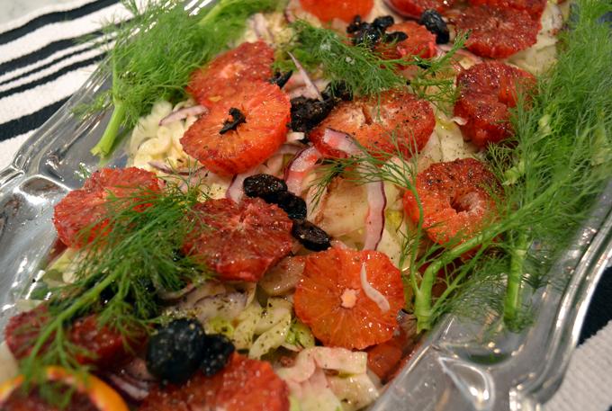 Fennel and Blood Orange Salad | labellasorella.com