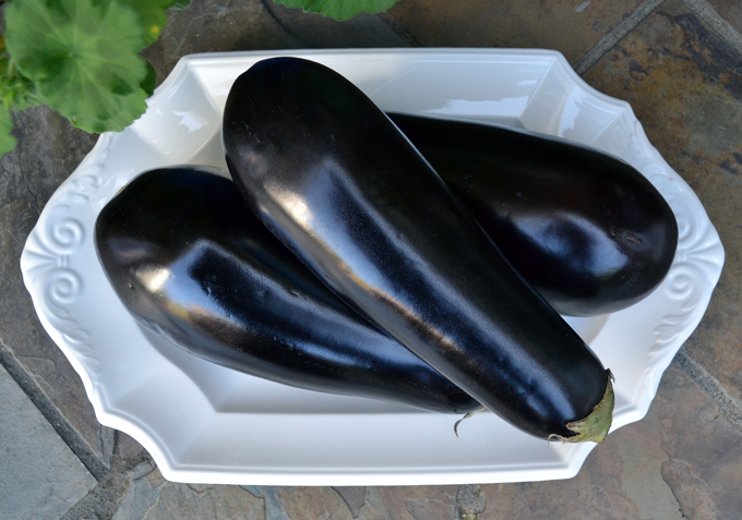 Eggplants for lasagna | labellasorella.com