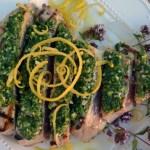 Grilled Tuna with Gremolata – Tonno alla Griglia con Gremolata