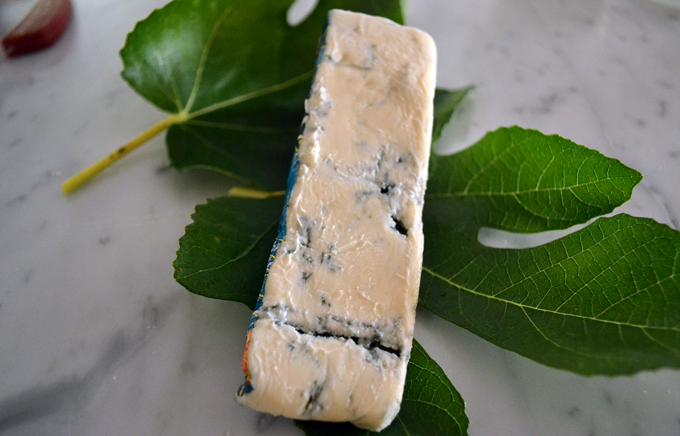 Creamy Gorgonzola Dolce , a personal favorite for stuffed figs | www.labellasorella.com