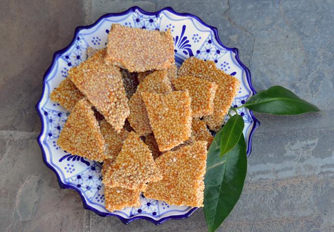 Sesame Croccante, a southern Italian speciality | labellasorella.com