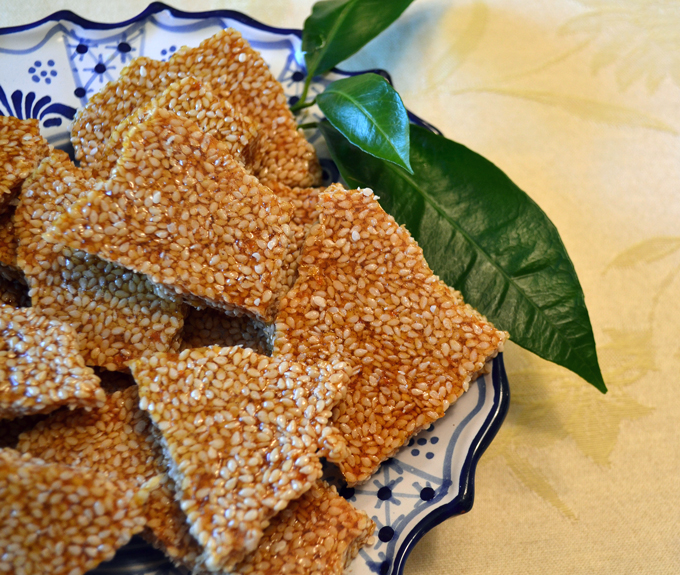 Sesame Croccante reflects the flavors of Calabria & Sicily | www.labellasorella.com