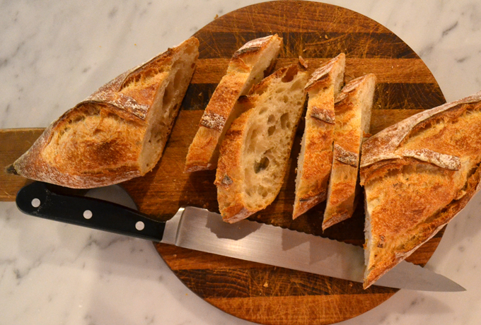 European style bread is simply the best for bruschetta | labellasorella.com