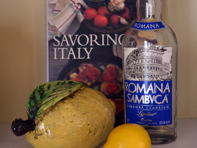 Sambucca, a staple in every Italian American home | labellasorella.com